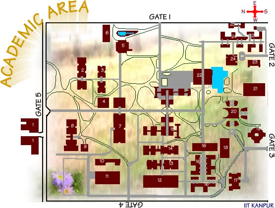 iit kanpur campus map Page Designed Developed By Information Cell Iitk Kanpur 208 iit kanpur campus map