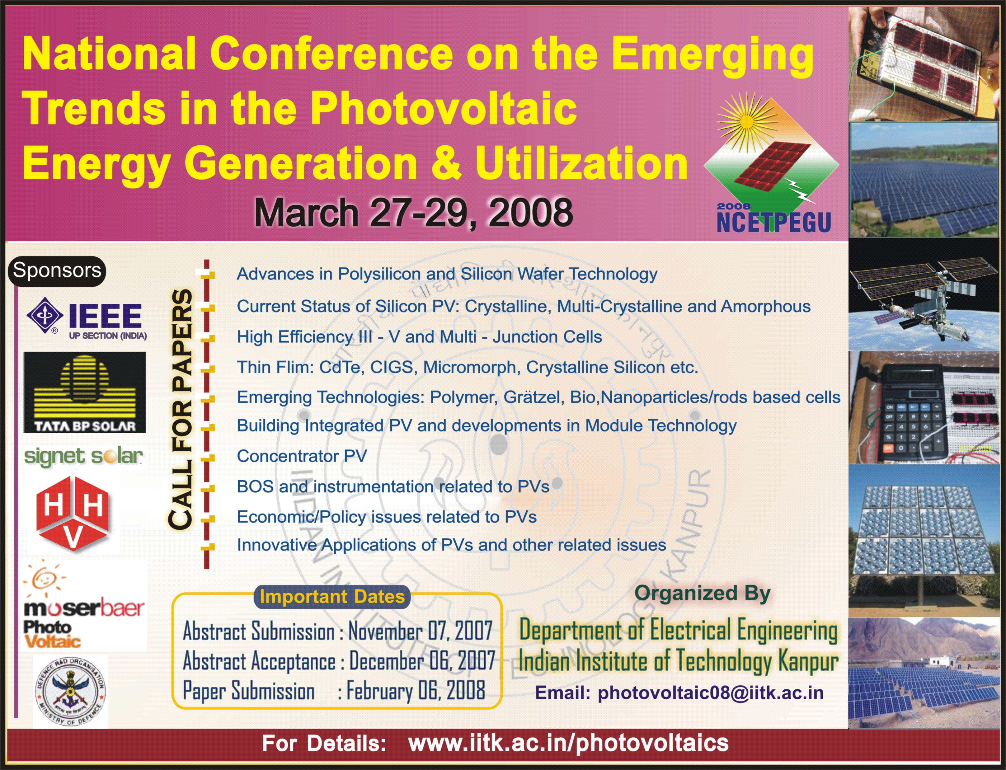 NCETPEGU - National Conference on the Emerging Trends in the ...